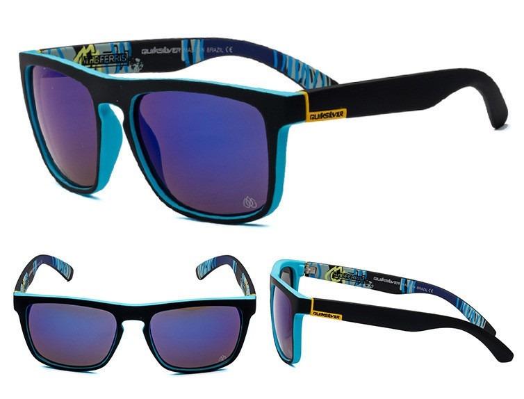 3c277b892425c Óculos Quiksilver The Ferris - 100% Polarizados - R  85