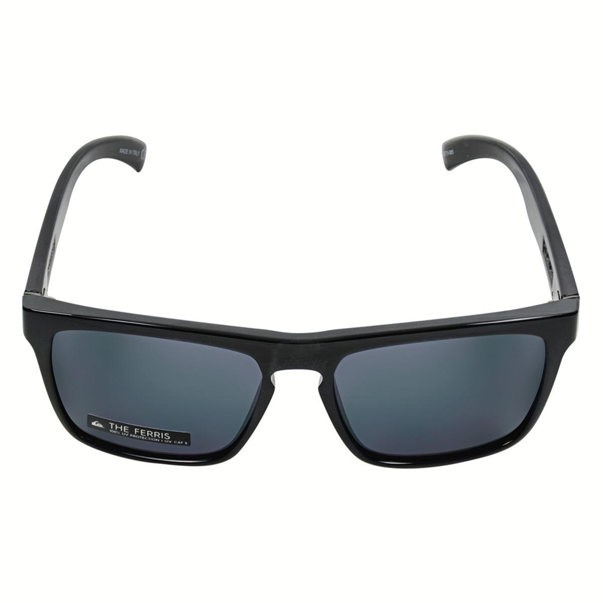 8f87784ab190b Óculos Quiksilver The Ferris Shinny Preto - R  490,00 em Mercado Livre
