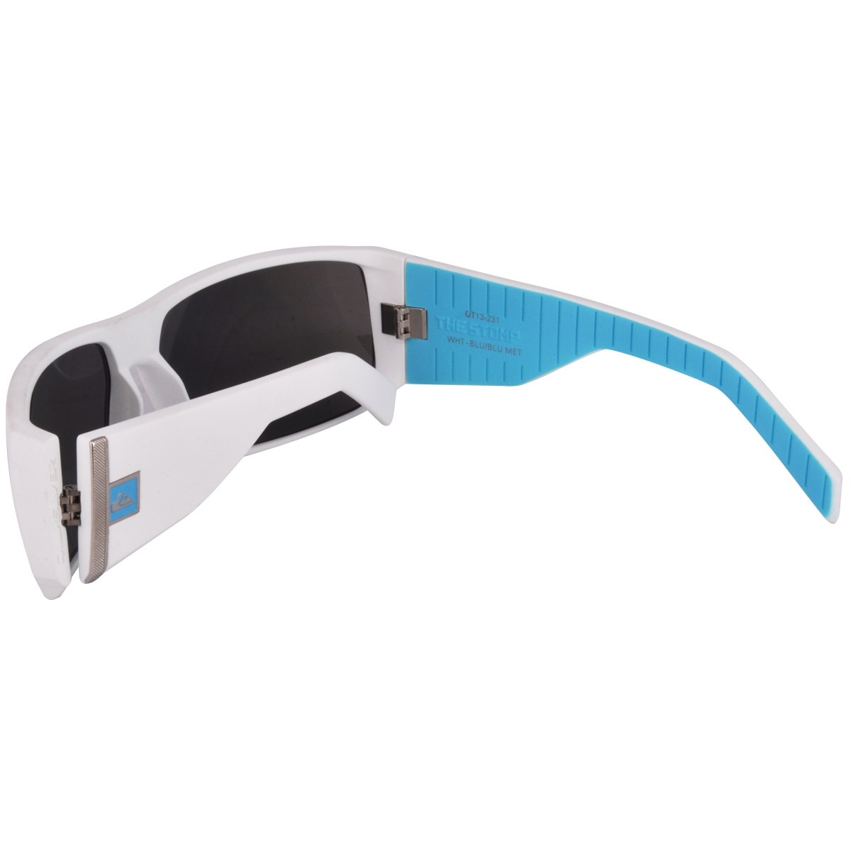 93a0ca3184ed5 óculos quiksilver the stomp branco e azul - cut wave. Carregando zoom.