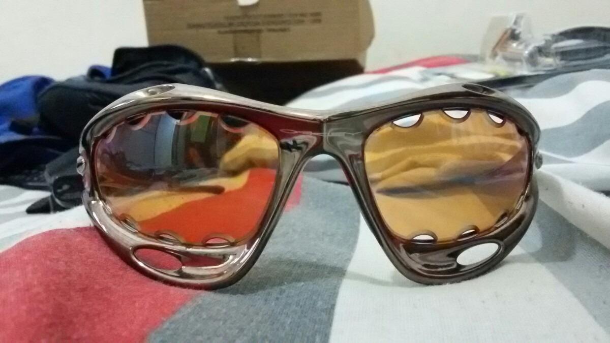 0c70b41cebeac óculos racing chrome oakley. Carregando zoom.