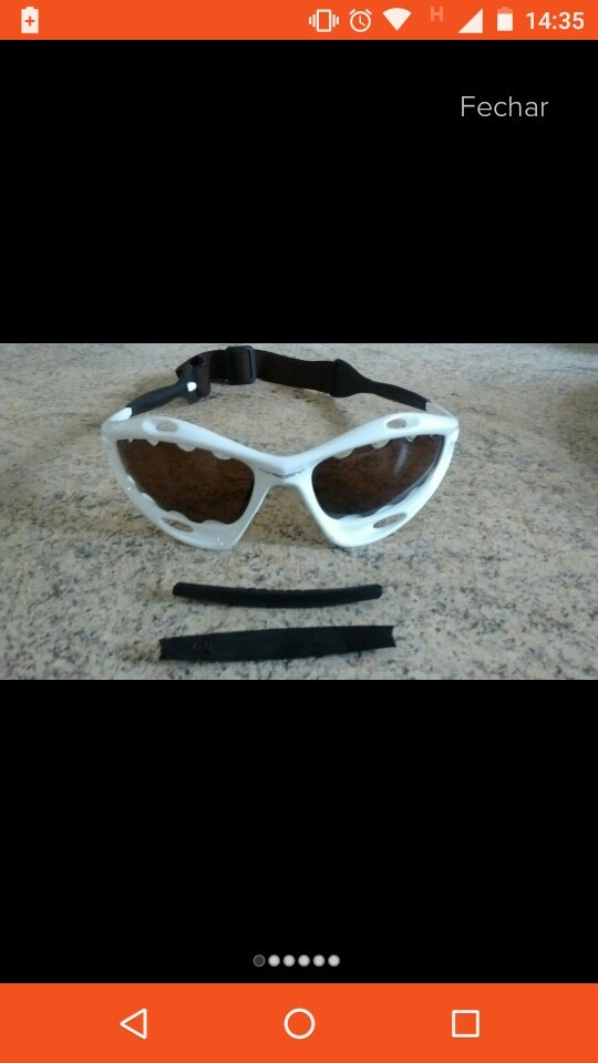 9c32f7c72f96b Óculos Racing Water Jacket, Com Alça - R  189,90 em Mercado Livre