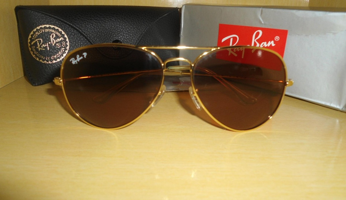 óculos Ray Ban Polarizado   Louisiana Bucket Brigade 264d246115