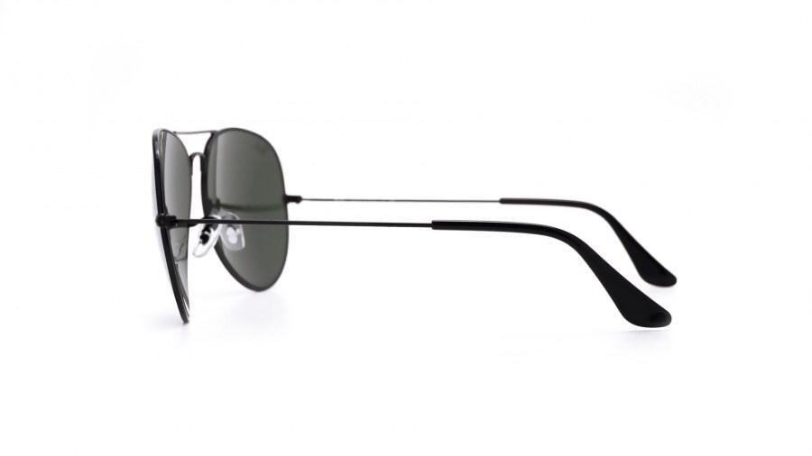 328805142ce53 óculos ray ban 3026 large metal ii 62-14, preto, original! Carregando zoom.