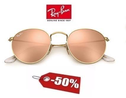 Óculos Ray Ban 3447 Round Prata Feminino Pronta Entrega - R  300,00 ... c94979c566