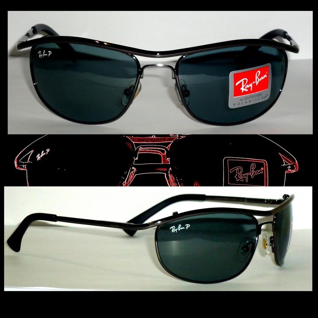 6c4c1ef1fe492 oculos ray ban 8012 grafite lente verde. Carregando zoom.