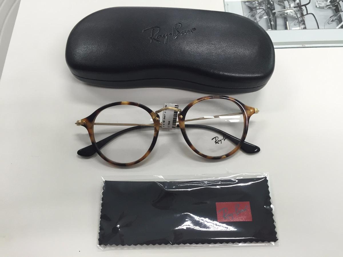 4dadbfcd26815 Oculos Receituario P grau Ray Ban Rb 2447-v 5494 49 Original - R ...