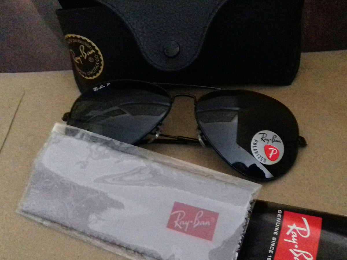 c781c63d51670 Oculos Ray Ban Aviador Polarizado Original Nunca Usado - R  220