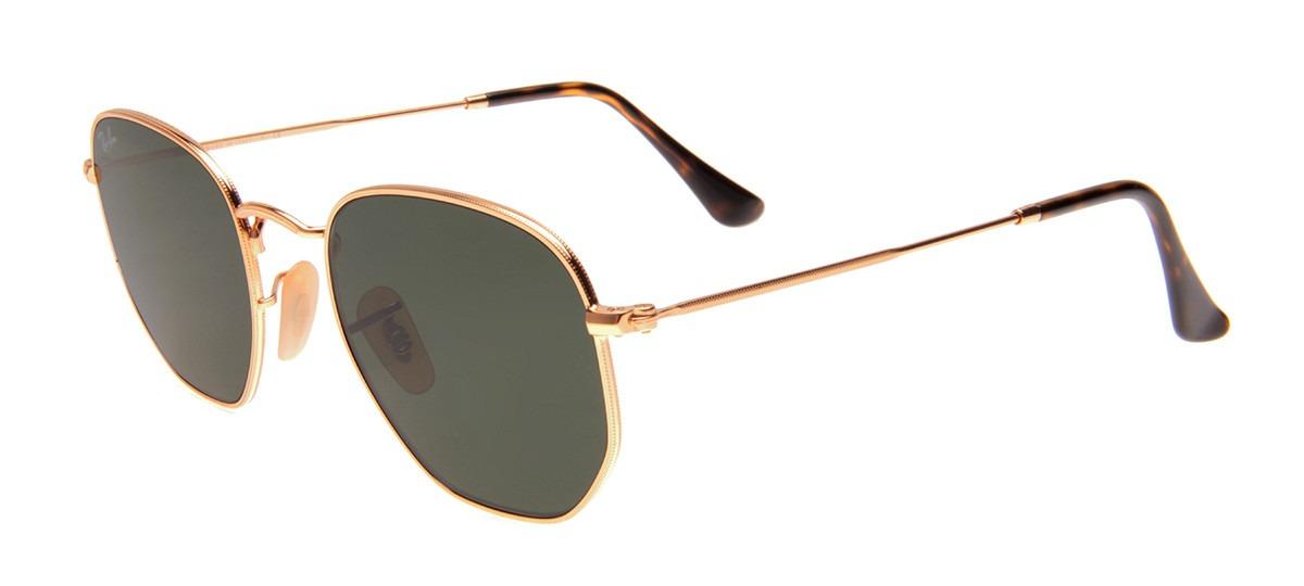 9a761ad081f59 Oculos Solar Ray Ban Hexagonal Rb3548 54mm Original - R  245