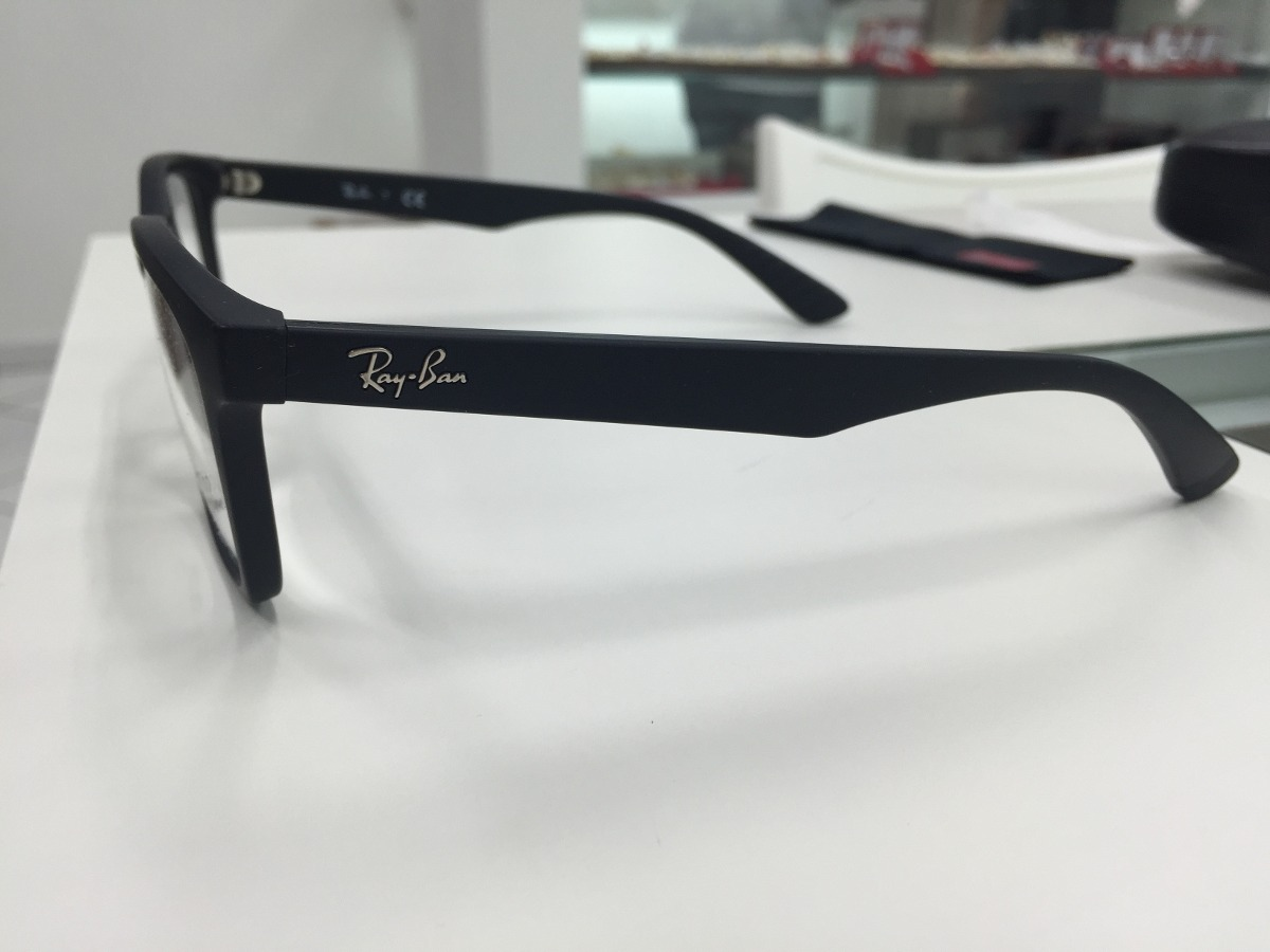 Oculos Receituario P grau Ray Ban Rb 7025 2077 55 Original - R  359. Ótica  View Armação de óculos RAY ... 6102a2a8a6