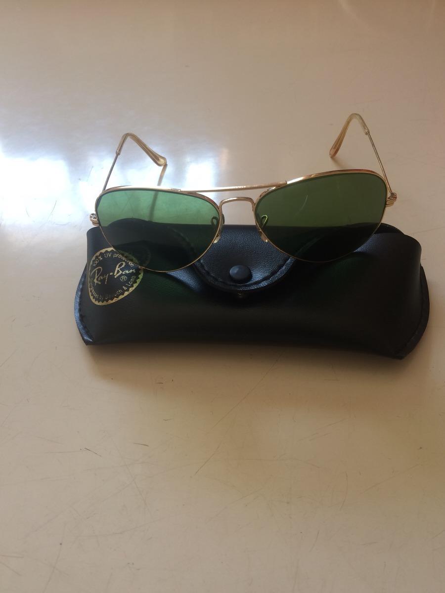 718612b217023 Oculos Ray Ban Antigo Banhado A Ouro - R  659,00 em Mercado Livre