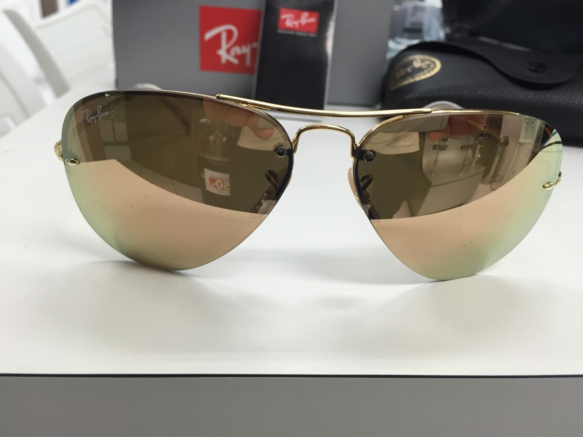 02cf749d17 Oculos Solar Ray Ban Rb3449 001 2y 59 Original P. Entrega - R  495 ...