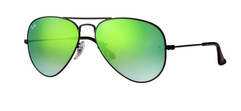 4860b3d627 Oculos Solar Ray Ban Aviador Rb3025 002 4j 58 Preto Verde - R  448 ...