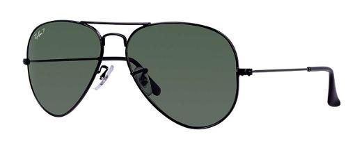 d428404af7a19 Óculos Ray- Ban Aviador Rb3025 62 - Preto Polarizado - R  343,60 em ...