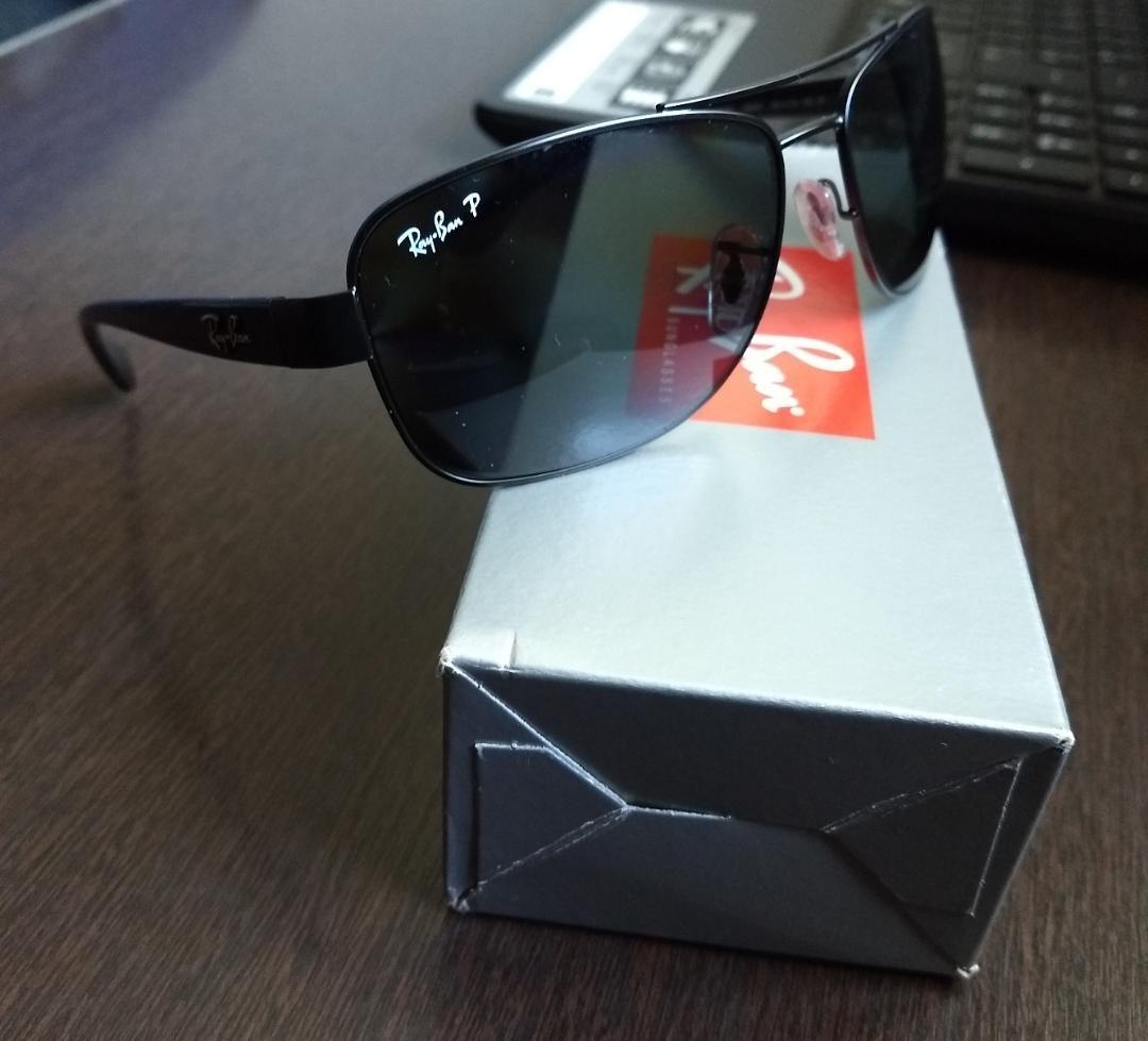 Oculos Ray Ban Rb3518l Polarizado - R  320,00 em Mercado Livre a31734d690