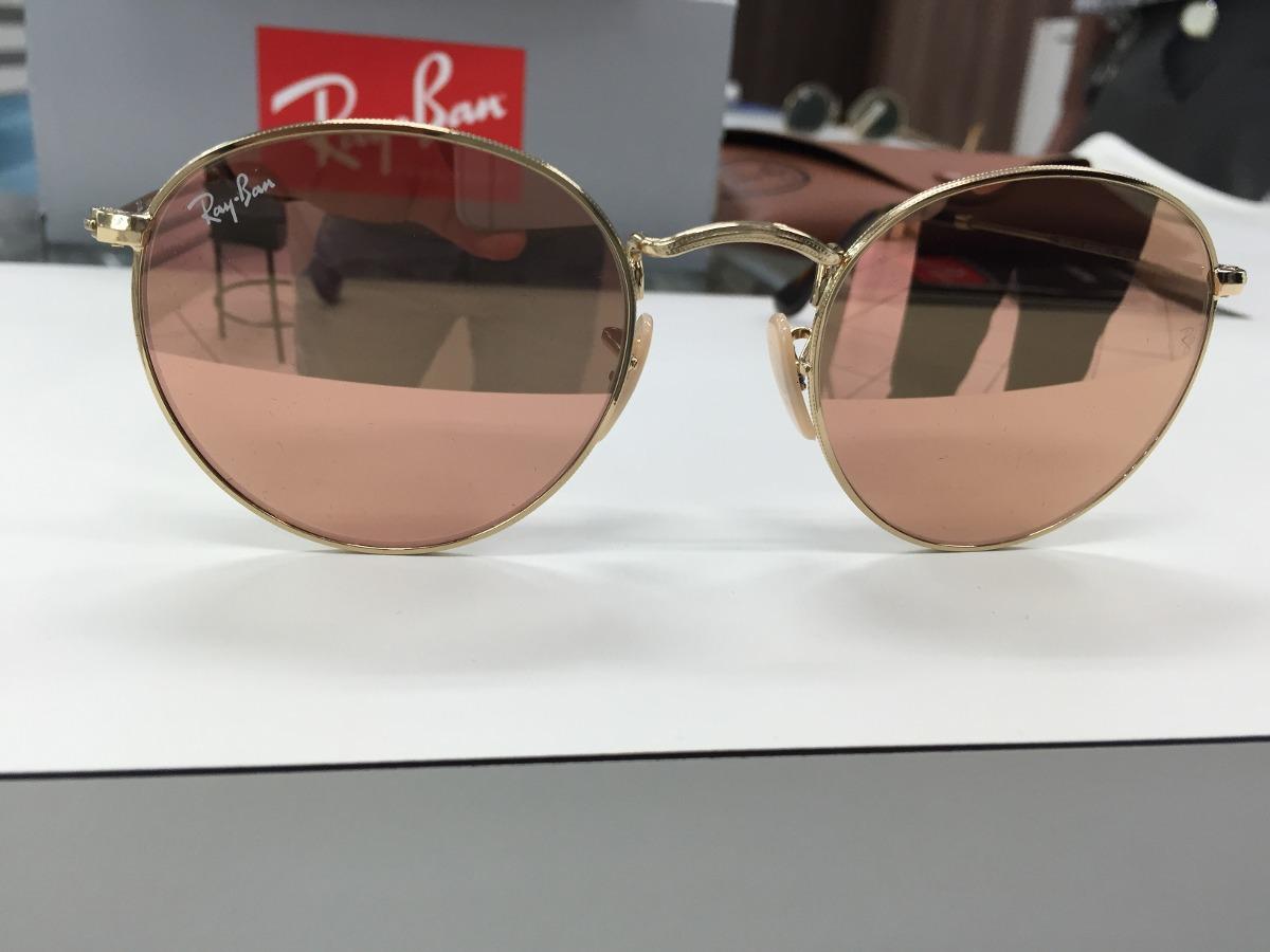 0a053d00472b5 Oculos Ray Ban Rb3447 N Round Metal 001 z2 50 Lente Reta - R  479