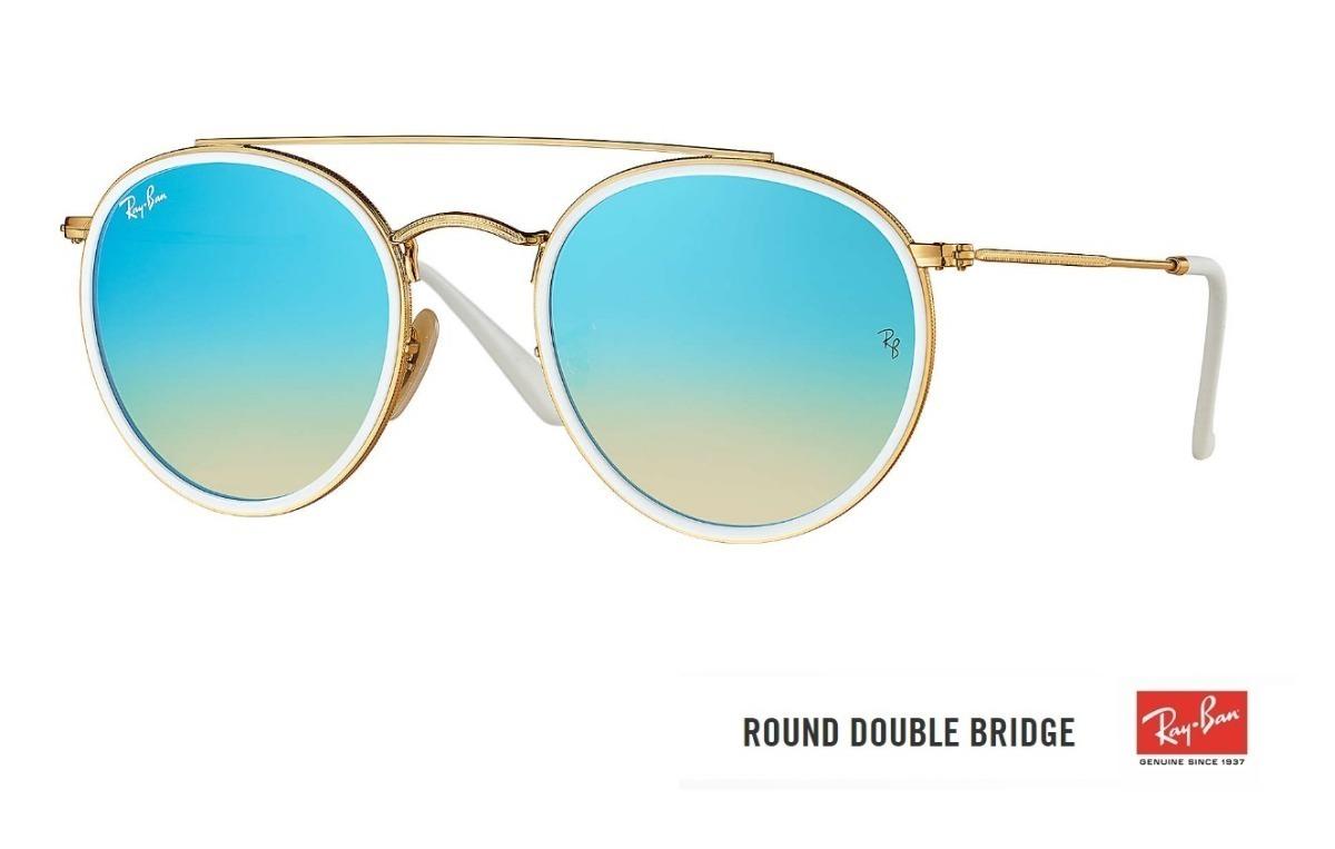 1b56a053e ... round double bridge 3647 original lançamento. Carregando zoom... óculos  ray ban. Carregando zoom.