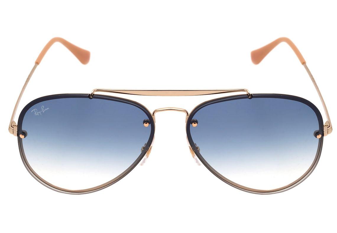Carregando zoom... ray ban óculos. Carregando zoom... óculos ray ban  aviador blaze rb 3584 001 19 61 azul original 5054097bb9