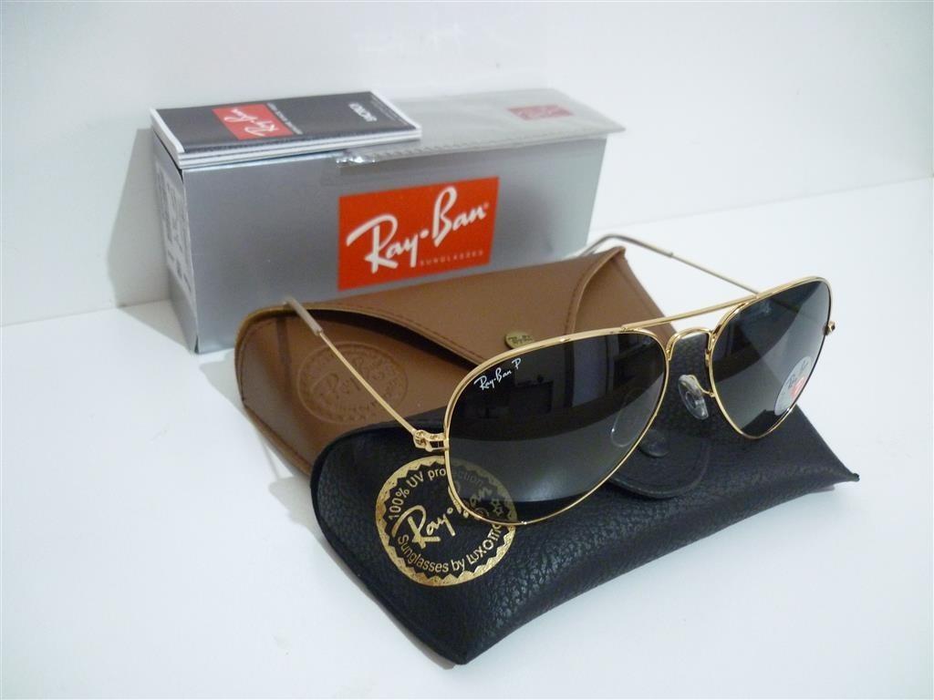 Óculos Ray Ban Rb3025 Aviador Polarizado 58 M 62 G Consulte - R  349 ... 43e473b967