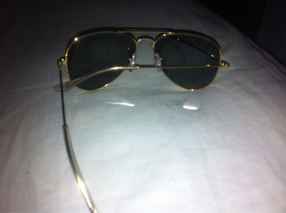 cadb4dc20404b Oculos Ray Ban Aviador Vermelho - R  150,00 em Mercado Livre
