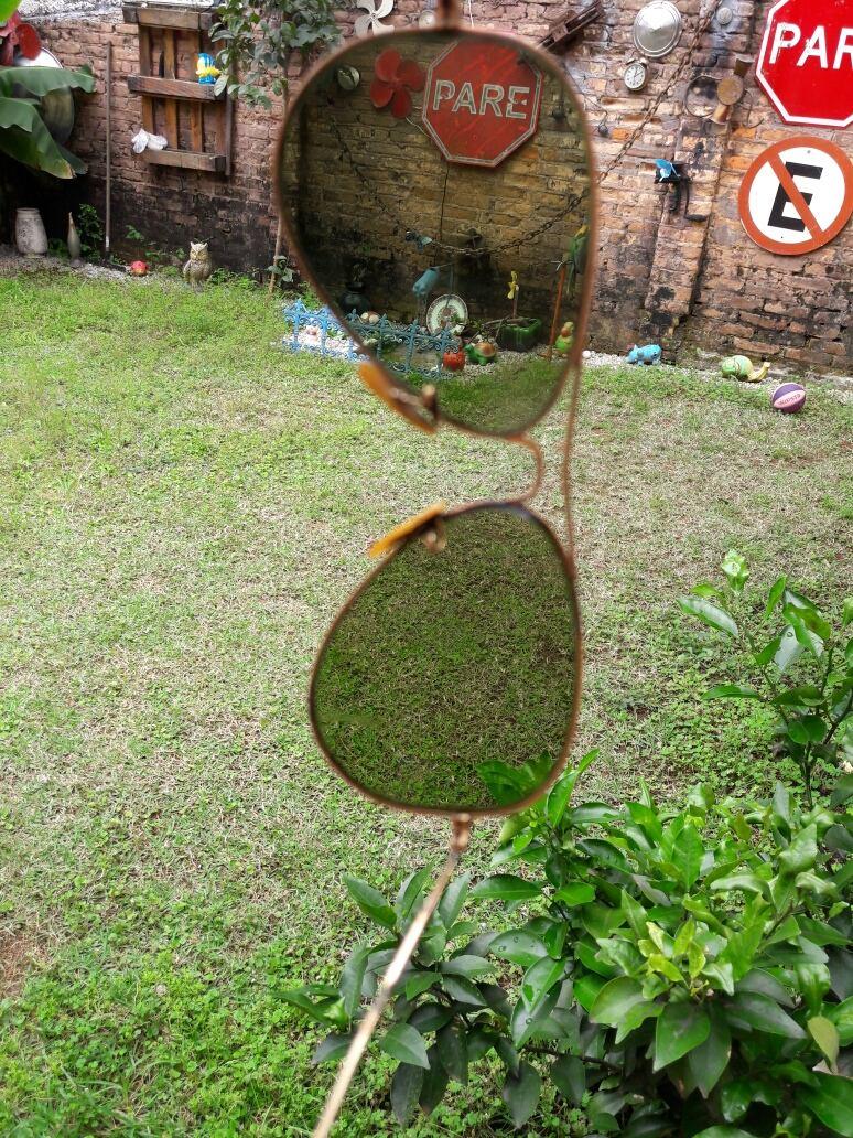 6d55a0673cf0b óculos ray-ban anos 60 70 comprado ótica lutz ferrando. Carregando zoom.