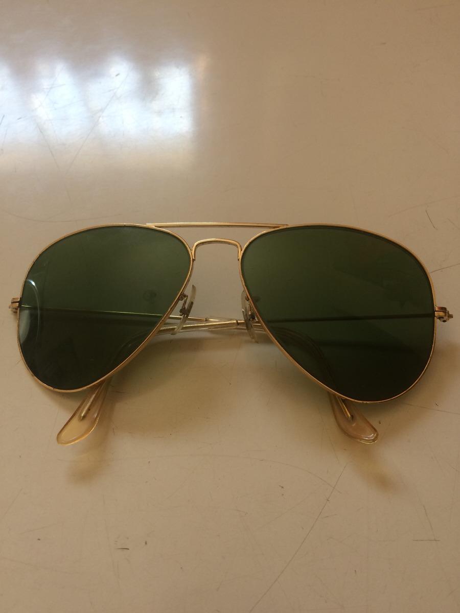 31afc6055220f Oculos Ray Ban Antigo Banhado A Ouro - R  659,00 em Mercado Livre