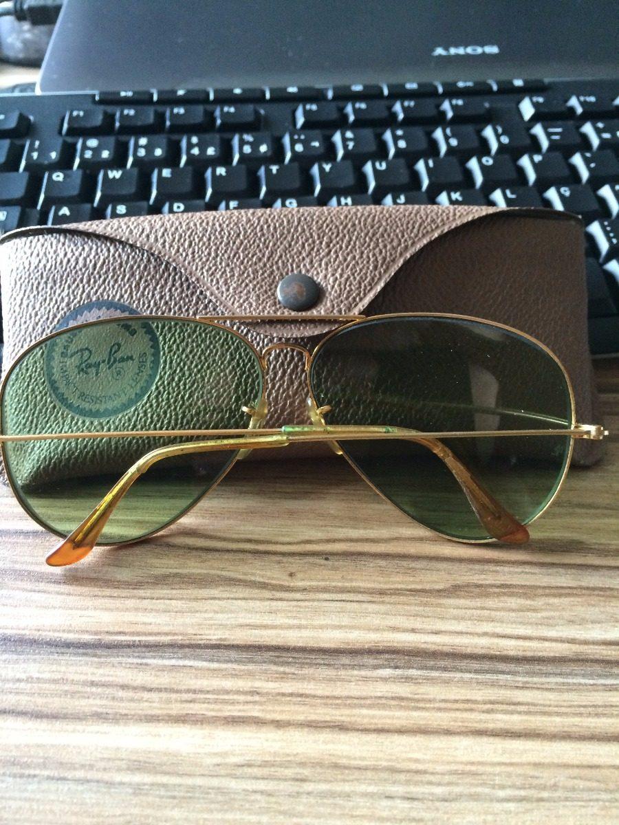 01d6b6b94ab04 Oculos Ray Ban Antigo Modelo Aviador - R  378,00 em Mercado Livre