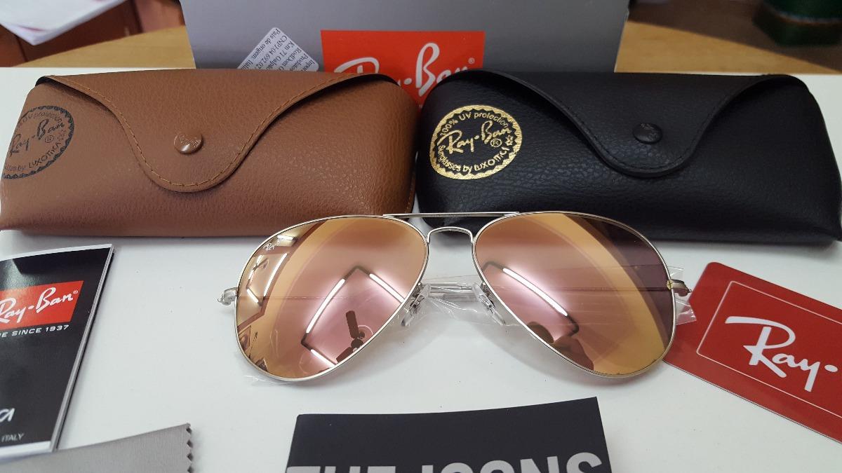 Óculos Ray Ban Aviador 3025 3026 Original Na Caixa - R  319,90 em ... d51269b33f