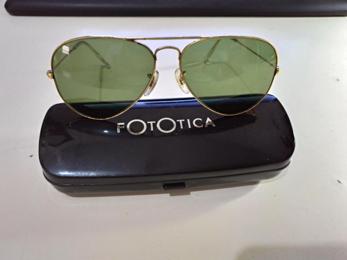 9a7c67ceb98cc Óculos Ray Ban Aviador Antigo - Original - R  160,00 em Mercado Livre
