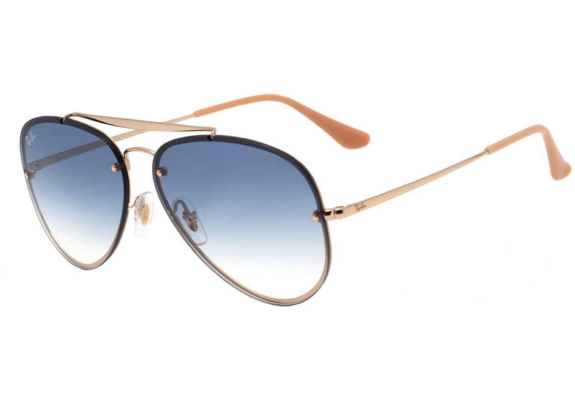 óculos ray ban aviador blaze rb 3584 001 19 61 azul original. Carregando  zoom. a5c62200ac