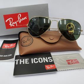 1b2f03f71 Óculos Ray Ban 1960 Aviador Antigo Ouro 12 K Coleção Raro! - Óculos ...