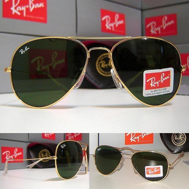 5b706c91a35c6 Óculos Ray-ban Aviador Clássico Black Friday Lente Cristal - R  129 ...