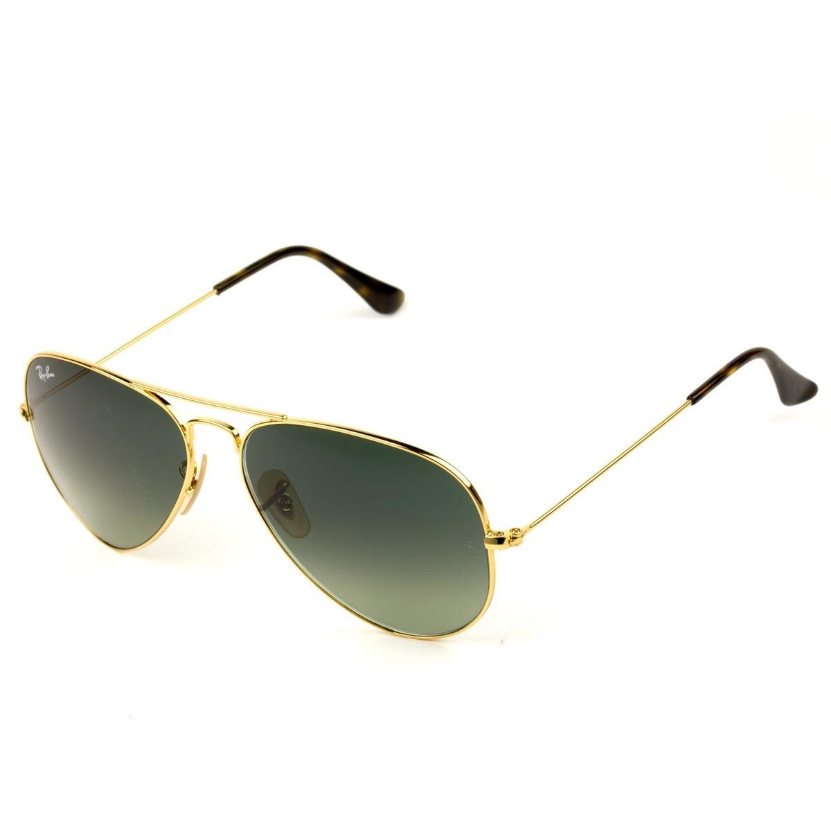 898cdea6aa6d9 óculos ray- ban aviador dourado rb3025 - original promoção!! Carregando zoom .
