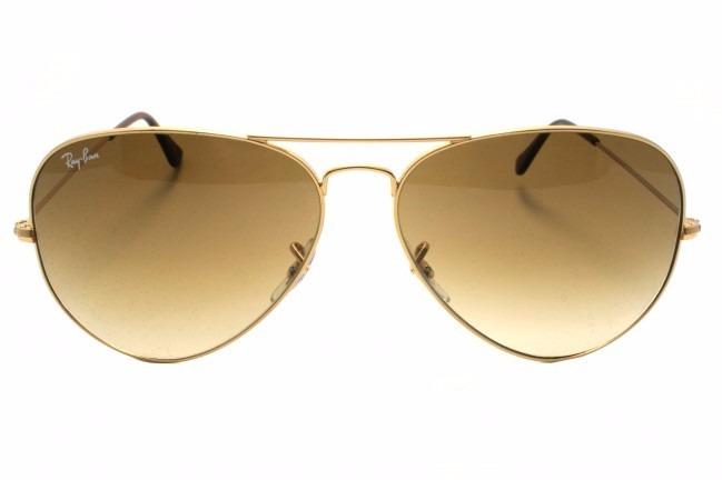 Óculos Ray Ban Aviador Feminino Marrom Degrade Promoção - R  79,90 ... d5a767f237