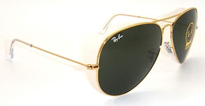 0c775c4b5a111 Oculos Ray Ban Aviador Masculino feminino Tam. ( M ) Preto - R  149 ...