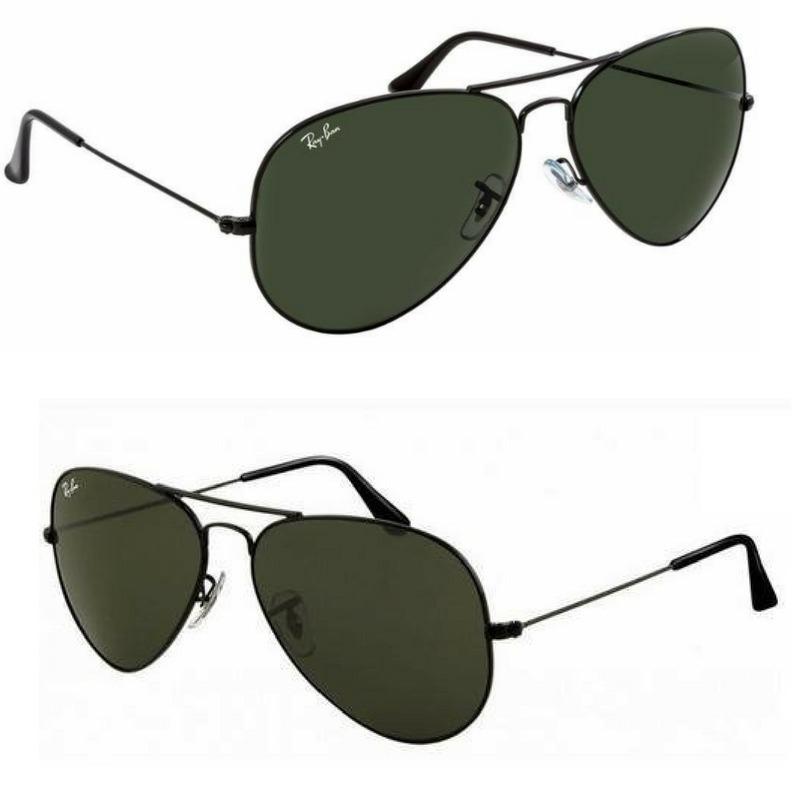 oculos ray ban aviador masculino feminino tam. ( m ) preto. Carregando zoom. 6c5e95ac46