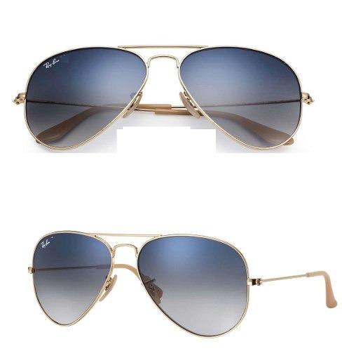 68231b058 Oculos Ray-ban Aviador Original Azul Degrade Rb3026 Rb3025 - R$ 219 ...