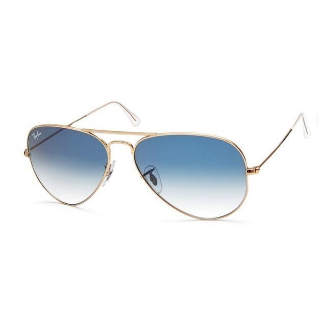 82c283777 Óculos Ray Ban Aviador Original Rb3026 Azul - R$ 139,99 em Mercado Livre