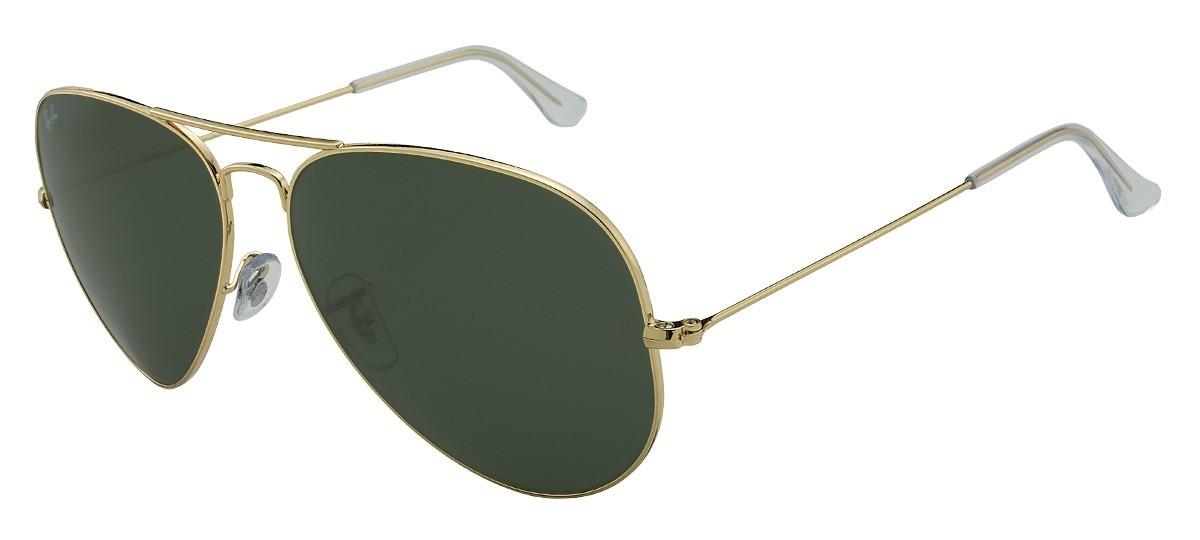 0504156920ec3 óculos ray ban aviador rb 3025 001 tamanho 62 - original. Carregando zoom.