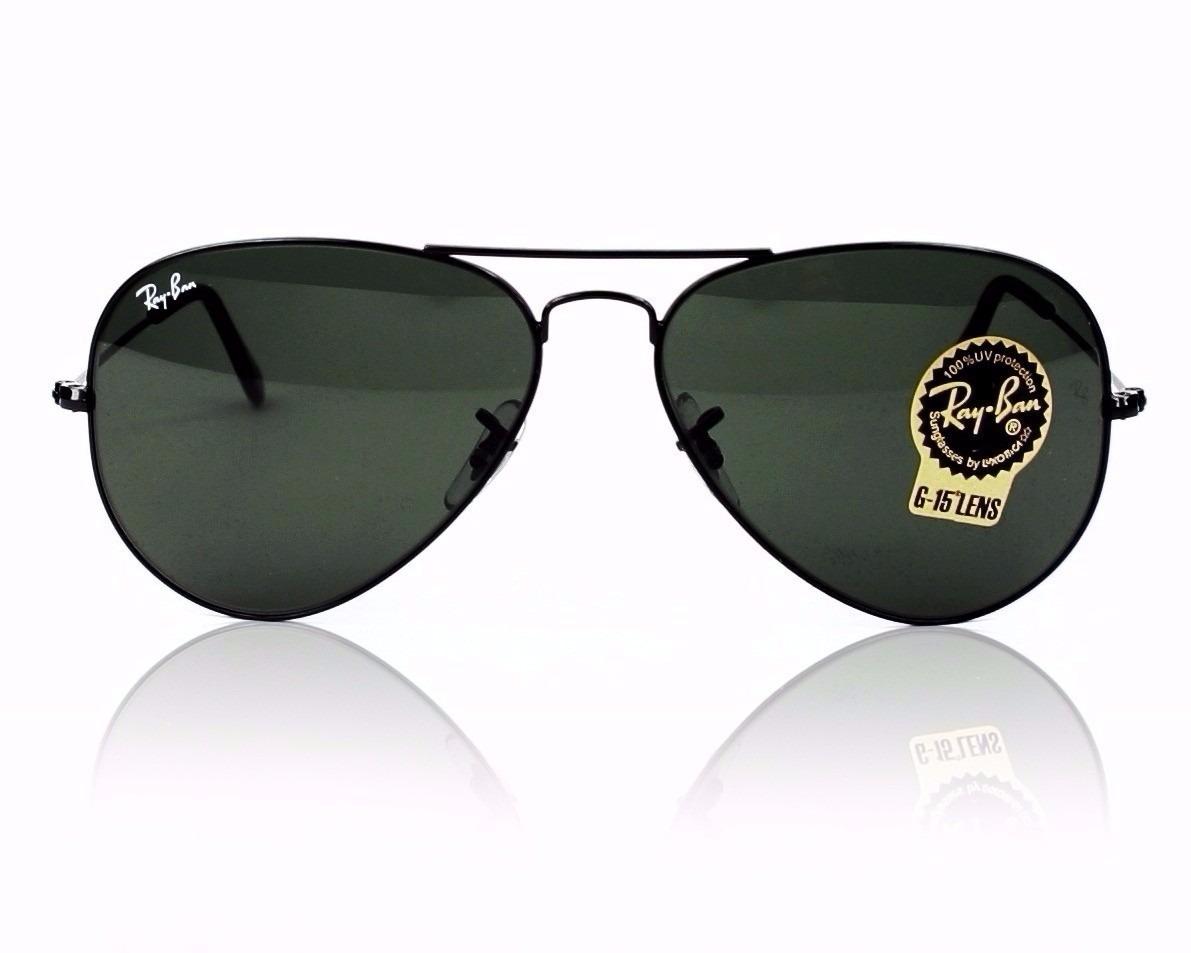 c0683f1de8302 oculos ray ban aviador rb 3026 tamanho 62mm preto original. Carregando zoom.
