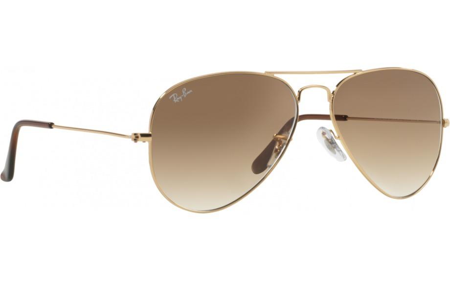 166d0eaf53176 oculos ray ban aviador rb3025 001 51 dourado marrom degrade. Carregando  zoom.