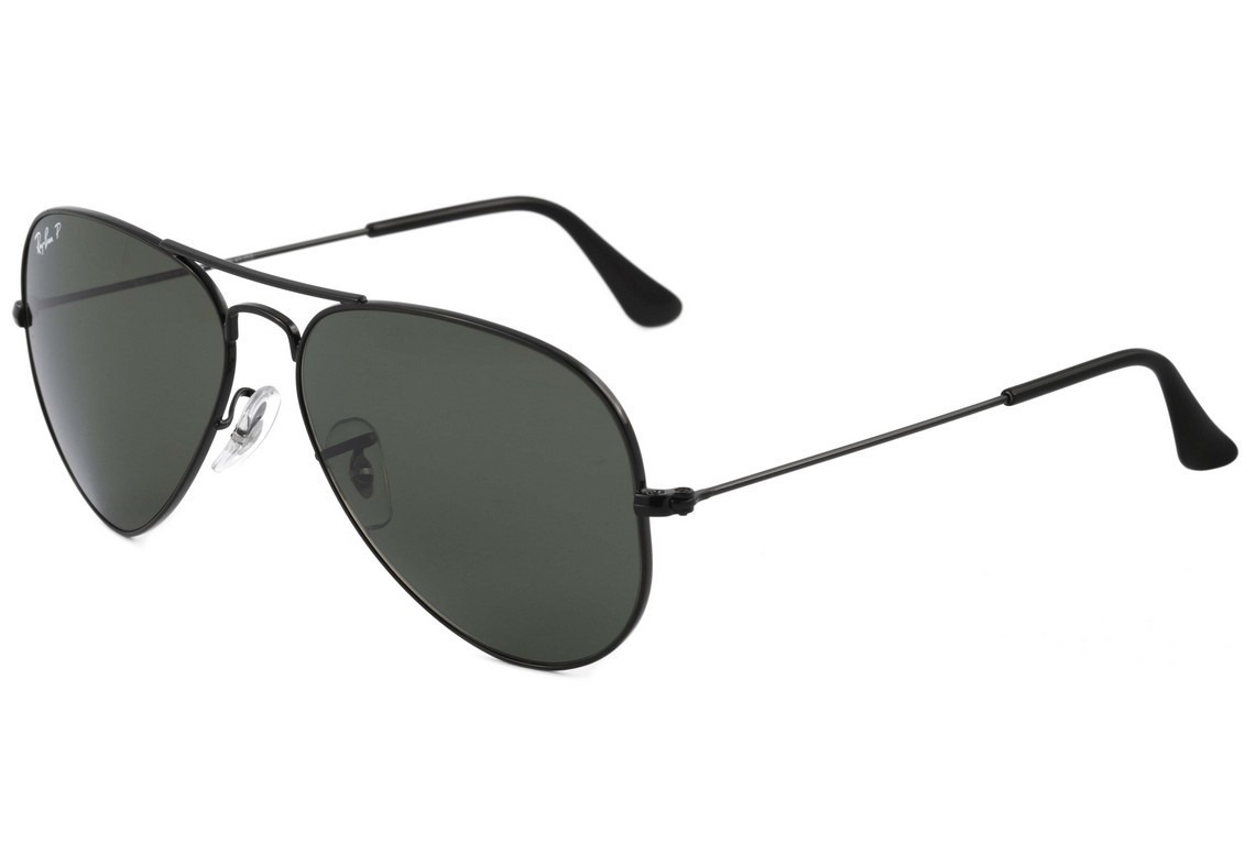 óculos ray ban aviador rb3025 preto polarizado - original. Carregando zoom. 879ec24a16