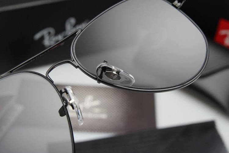 Óculos Ray-ban Aviador Rb3026 Preto Original - 50 % Off - R  199,00 ... 6dd3d898f5