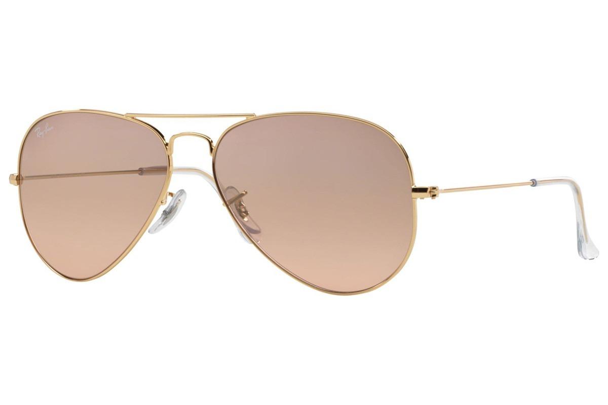 óculos ray-ban aviador unissex rb3025l 001 3e tamanho grande. Carregando  zoom. b00edafb6fc10