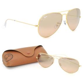 0046ec230 Rayban 3025 Aviator Tamanho Medio - Óculos De Sol Ray-Ban Aviator no ...
