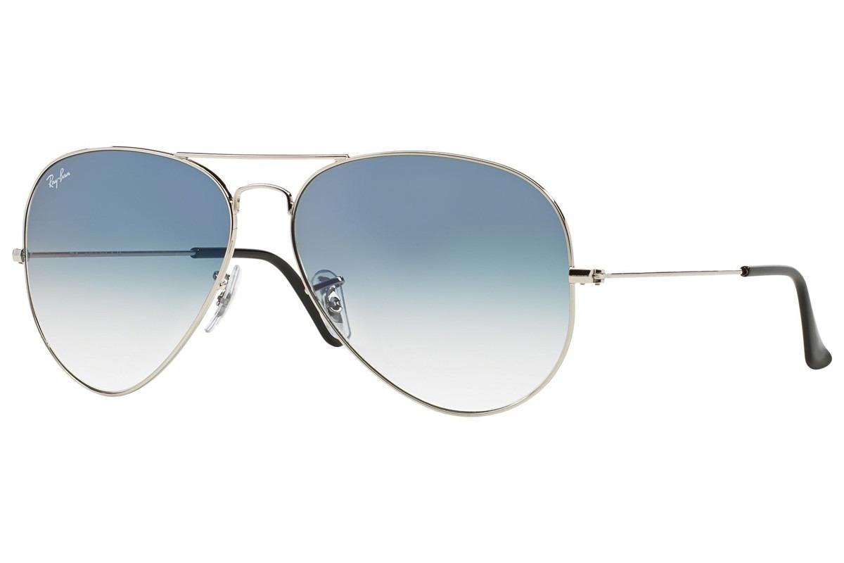 óculos ray-ban aviador unissex rb3025l 003 3f tamanho grande. Carregando  zoom. fef0cb9993
