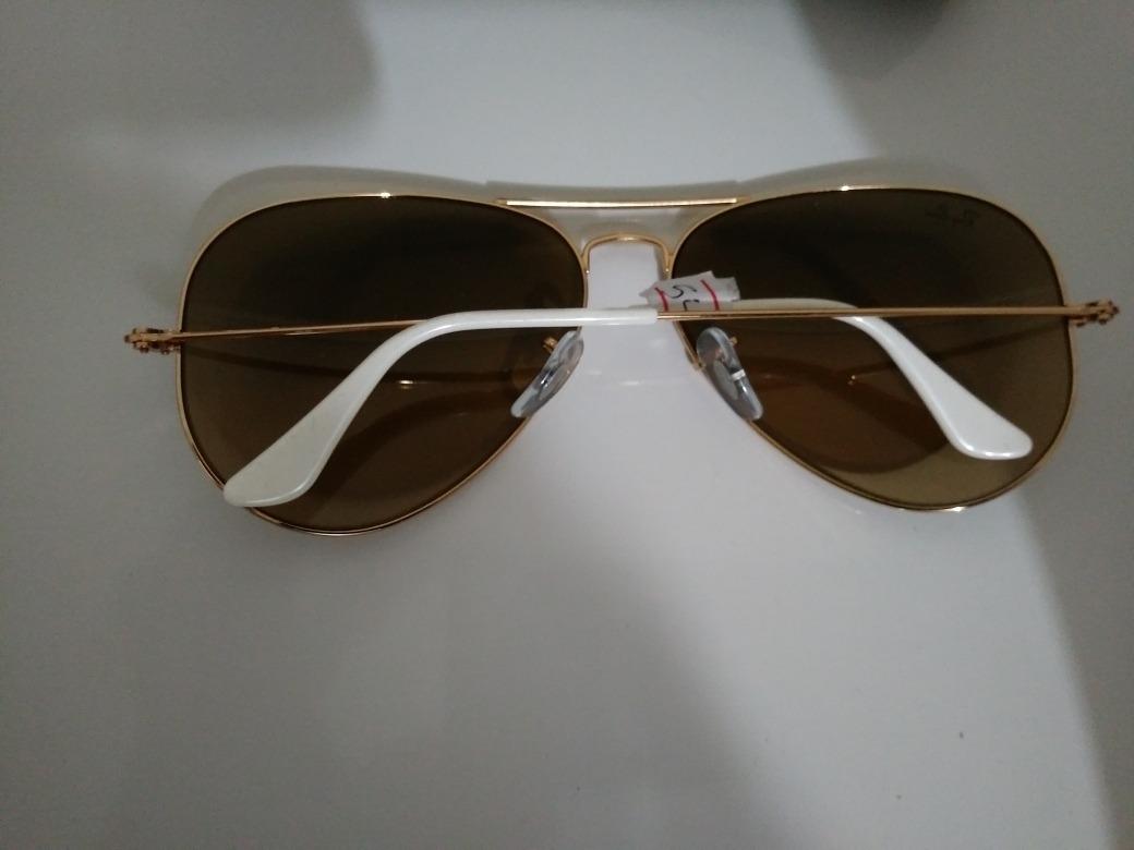 b33a980f5 ... order oculos ray ban aviator 3025 tamanho grande original. carregando  zoom.