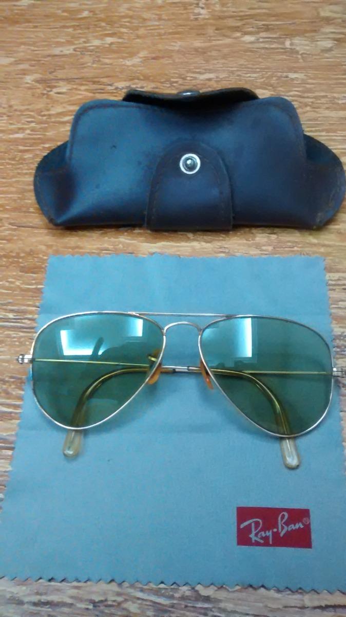 c45d12f6f1039 Oculos Ray Ban Aviator Antigo - R  780,00 em Mercado Livre