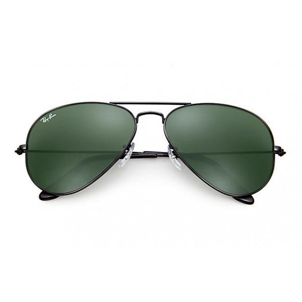 Óculos Ray Ban Aviator Classic Rb3025 - Preto Ou Ouro - R  520,00 em ... ff8dc968fa