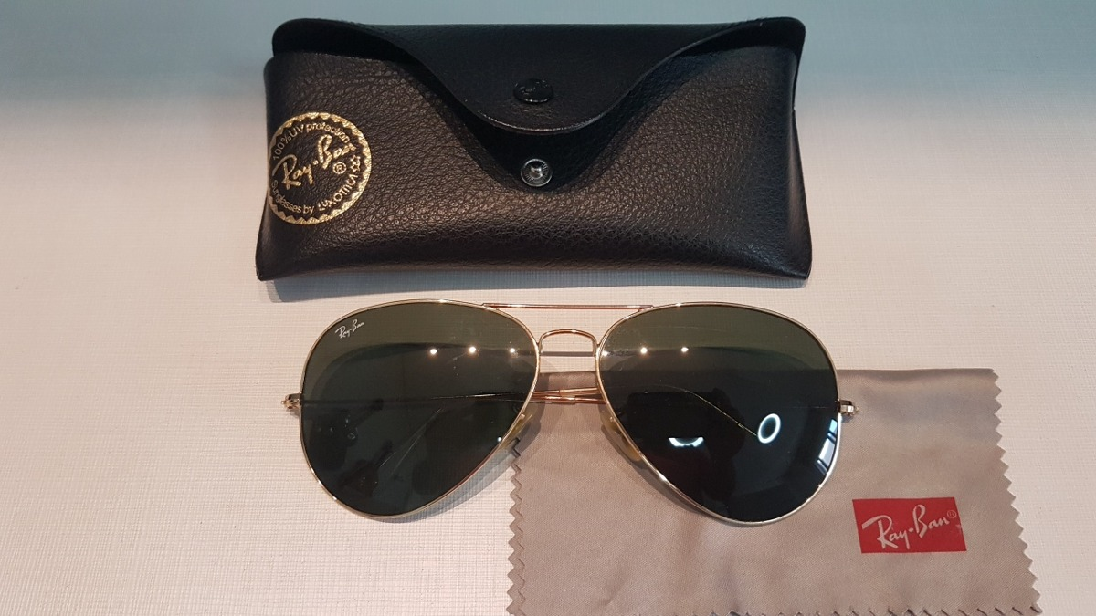 be2df1abb clearance oculos ray ban aviator original. carregando zoom. 07c2c 42243