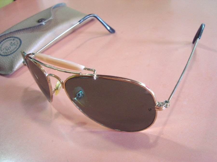 cb6b856992afc Onde Comprar Oculos Ray Ban No Brasil. Óculos Ray Ban Bausch Lomb 14k  Aviador ...